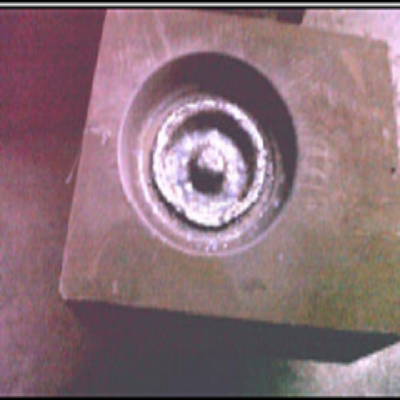 DIE INSERTS WELDED WITH LOTHERM E GS 535