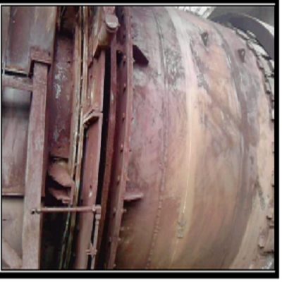 Rotary Kiln in Chemical Plant