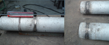 Ductile Iron Pipe Joining With Lotherme 703,705.